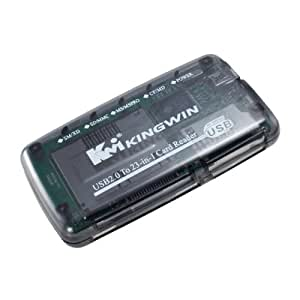 Kingwin 23-In-1 Universal Card Reader/Writer Flash Memory Card Reader, KWCR-506
