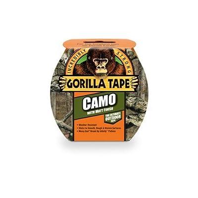 """Gorilla Tape, Camo Duct Tape, 1.88"""" x 9 yd, Mossy Oak by Gorilla"""
