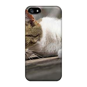 ROogpMT5377BHOhx ScoDBke Awesome Case Cover Compatible With Iphone 5/5s - Cat Hight Qaulity Wallpaper