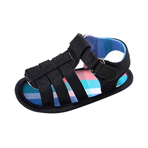 Sandalias Bebé SMARTLADY Bebé Infantil Recién Zapatos Del Niño NiñasZapatillas Negro