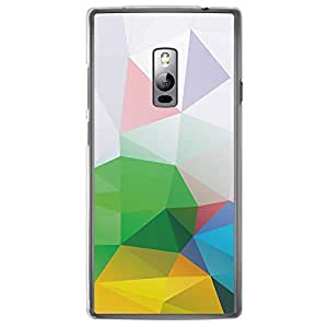 Loud Universe OnePlus 2 Geometrical Printing Files A Geo 2 Printed Transparent Edge Case - Multi Color