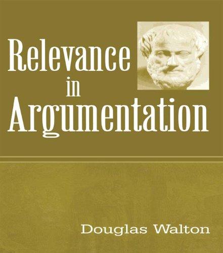 Download Relevance in Argumentation Pdf