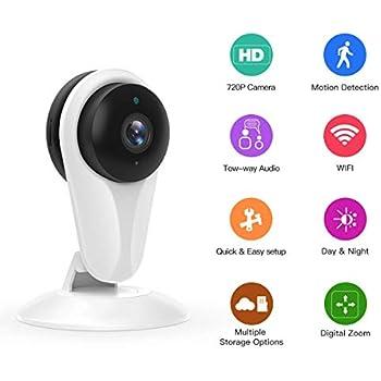 Amazon Com Funlux 720p Hd Wifi Wireless Smart Home