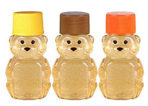 2-ounce RetroPak Plastic Panel Bear Fall Harvest Variety 24-Pack (Brown, orange, and golden yellow ()