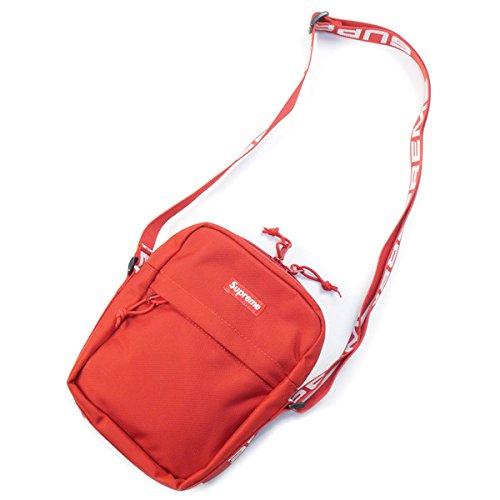 SUPREME シュプリーム 18SS Shoulder Bag ショルダーバッグ 赤 フリー 並行輸入品 B079WSDJZY