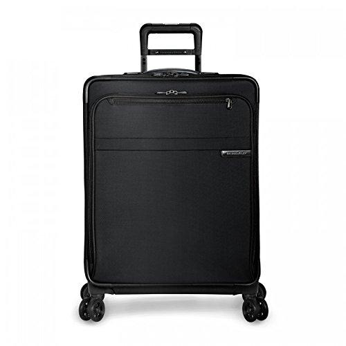 Briggs & Riley Baseline Medium Expandble Spinner, Black, One - Briggs Riley & Baseline Luggage
