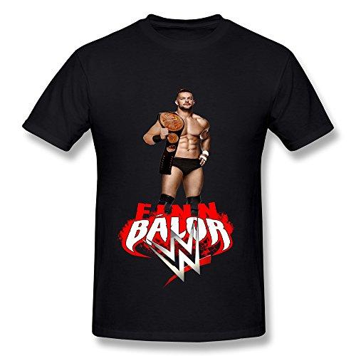 SANYI Men's Finn Balor Wwe T-shirt Size S Black