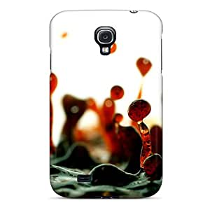 Perfect Fit ILrFL23216uCpyd Red Liquid Case For Galaxy - S4