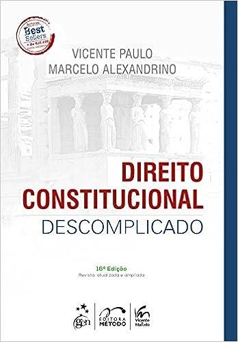 livro direito constitucional descomplicado gratis