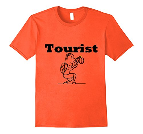 Mens LIMITED Tourist Shirt For Men, Women,Teens,Kids,Boys, Girls Small Orange