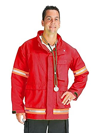 TOPPS SAFETY EJ01R5645-Short/38-40 EMS Jacket with 2