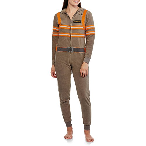 Ghostbusters Womens Union Suit Onesie Pajamas (S 3-5) (The Good Wife Merchandise compare prices)