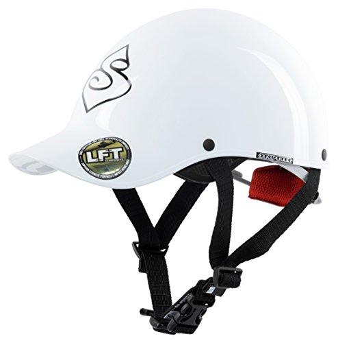 Sweet Protection Strutter Paddle Helmet, Gloss White, Medium/Large (Helmet Whitewater)