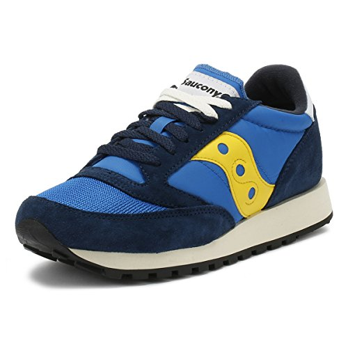 Blue 2 Jazz Saucony Bleu Vintage Baskets Original Yellow Homme YnHzOn