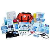 Nexis Preparedness Systems FA-912 ''EMT Style'' First Responder Kit 409-Pieces Orange-Bag