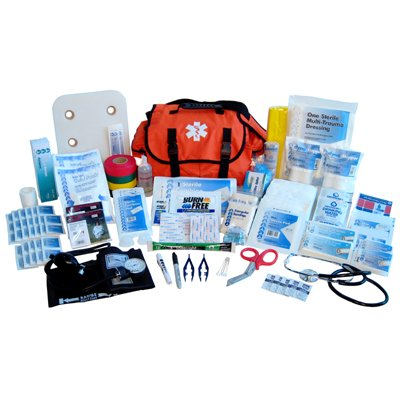 Nexis Preparedness Systems FA-912 ''EMT Style'' First Responder Kit 409-Pieces Orange-Bag by Nexis Preparedness Systems (Image #1)