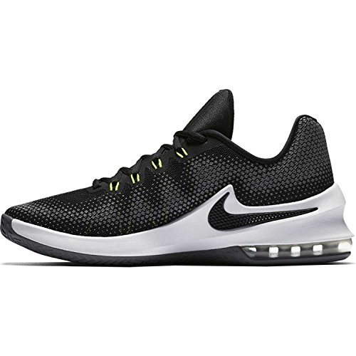 blanco blanco bajo Max Air grisáceo Negro Hombre Infuriate Sneaker Nike Gris qTvSwzq