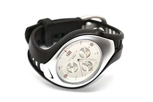 para Hombre Nike Triax Swift 3i Blanco Rojo analógico Reloj Deportivo: Amazon.es: Relojes