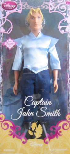 Smith Captain Pocahontas John Costume (Disney Princess Exclusive Poseable Pocahontas Doll - Captain John Smith -)