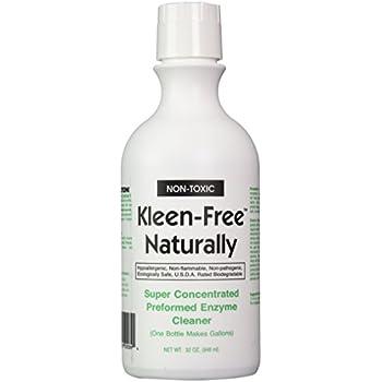 Amazon Nature s ERADICATOR Multi Purpose Enzyme Cleaner odor