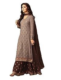 ziya Indian/Pakistani Ethnic wear Georgette Plaazo Salwar Kameez