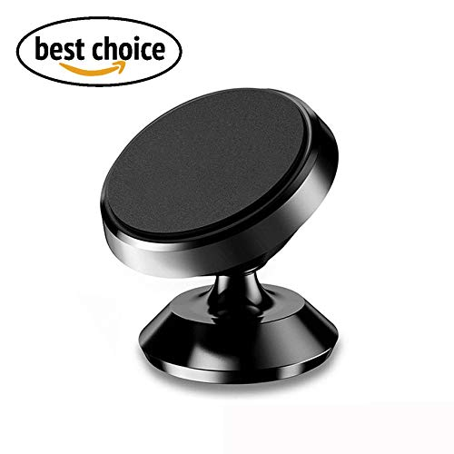 NANOCO Magnetic Car Mount Holder, Universal 360°Rotation Car Phone Holder, Dashboard Mount, Cell Phone Car Cradle for Apple iPhone, Samsung, and other Devices -