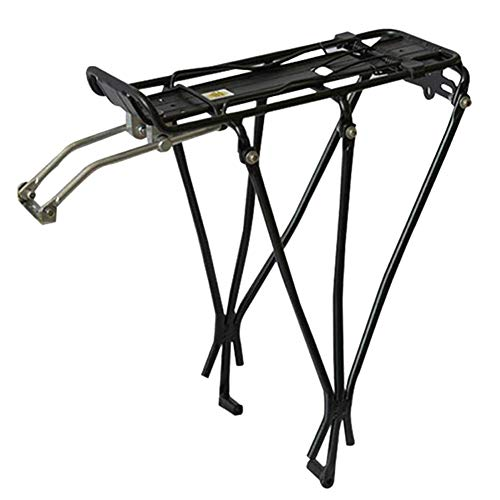 Bicycle Back Rear Bike Rack Bolt on Bicycle Carrier Rack Aluminum Alloy Bicycle Back Stand Mountain Bike Cargo Rack Bike…