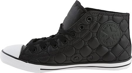 a7b47358c1727d Converse Chuck Taylor All Star Dainty Mid Black Womens 8.5 - Import ...