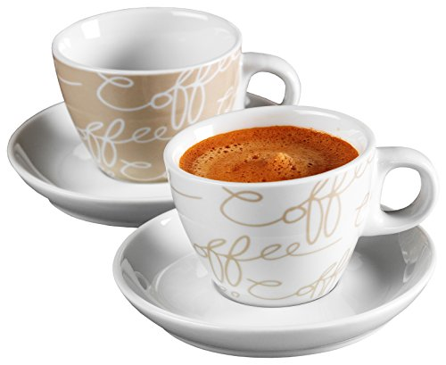 Ritzenhoff breker juego de caf espresso cornello 2 for Tazas para cafe espresso