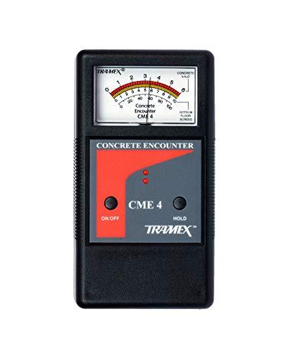 Tramex CME4 Tramex Non Destructive Concrete Moisture Meter Encounter 4, Measuring Range: 2-6% H2O