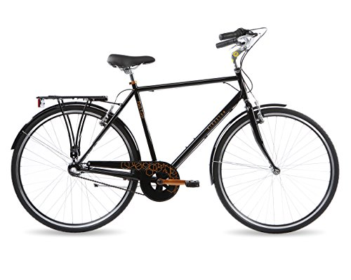 Kingston Park Lane, Hybrid Bike, 3 Speed, Mens, Black (22')