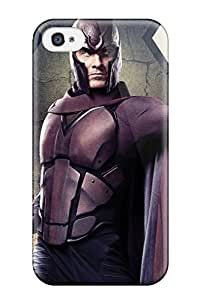 Hot Tpu Cover Case For Iphone/ 4/4s Case Cover Skin - Michael Fassbender X Men Days Of Future Past