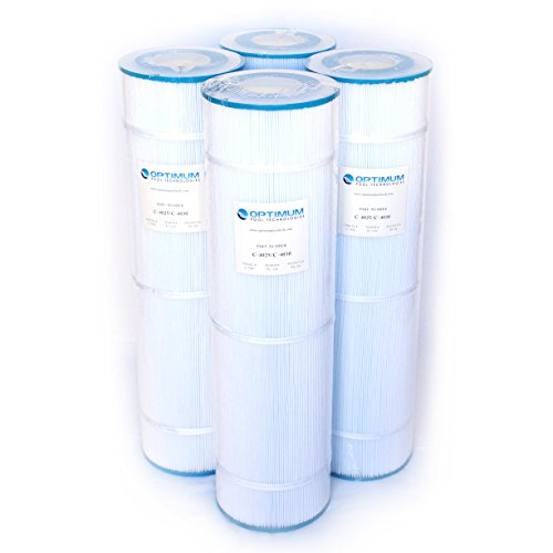 SWIM CLEAR C-4025/C4030; 425 SQ.FT. Cartridge Element (Pack of 4) by Optimum Pool Technologies