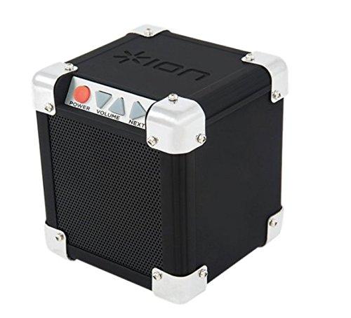 ION Audio Rock Block | Palm-Sized Wireless Bluetooth Speaker