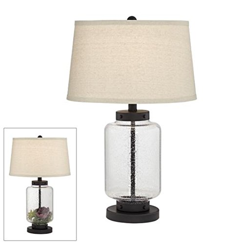 Collectors Dream Black Fillable Table Lamp