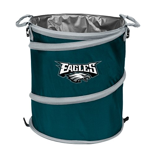 Logo Brands NFL Collapsible Multi Function Pop-Up Barrel: Cooler, Hamper or Trash Can