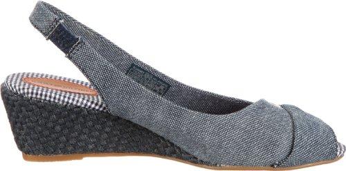 Tommy Hilfiger CASSIE 5 B - Sandalias fashion de tela mujer azul - Blau (CORE NAVY 475)