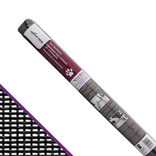 "Saint-Gobain ADFORS FCS8988-M 70587 Premium Pet Screen, 36"" x 84"", Charcoal"