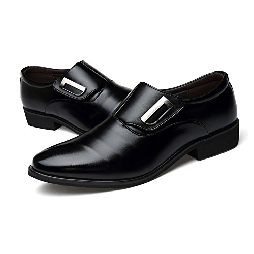 Oxfords Slip Nero Resistente Dimensione uomo Color traspirante UE da PU all'abrasione 44 Low Nero Leather Smooth amp;Baby Top Scarpe Sunny da on lavoro wq6zfnU