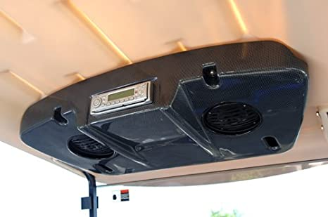 Amazon.com: Yamaha Golf Cart-2010 Stereo Console W/Speakers ... on golf cart remote control, golf cart wiring, golf cart material, golf cart width, golf cart color,