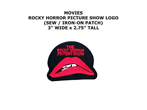 Costume Diy Thriller (Rocky Horror Picture Show Movie DIY Embroidered Sew or Iron-on Applique Patch Outlander)