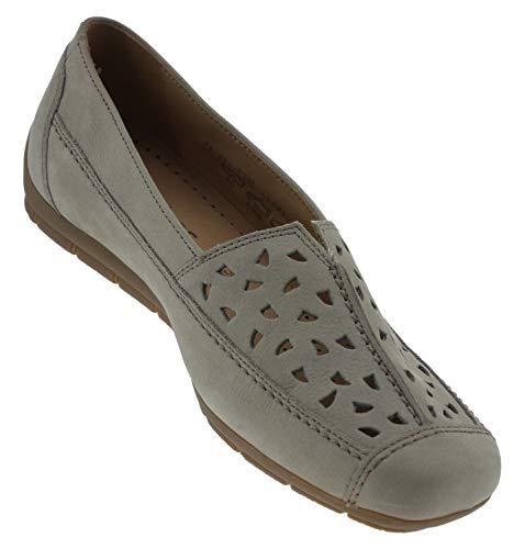 de Gabor Visone Ville Gris à Visone Femme pour Lacets Chaussures AwnUwqBr5a