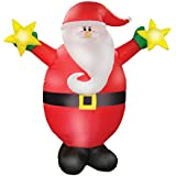 AirFormz by Aqua Leisure Inflatable Holiday Decorations, Santa