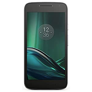 Motorola Moto G Play 4th Generation 16GB Unlocked GSM 4G LTE Android Smartphone w/ 8MP Camera (Black)