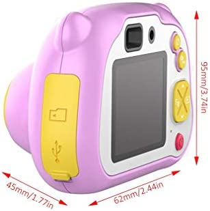 Eletam 12 Millionen WiFi Kinder Digitalkamera + Tf Speicherkarte 8g Kinder Geschenk Mini Digitalkamera Birthday Present, Rosa