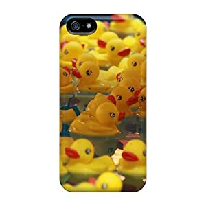 Tpu Fashionable Design Cute Duckies Rugged Case Cover For Iphone 5/5s New