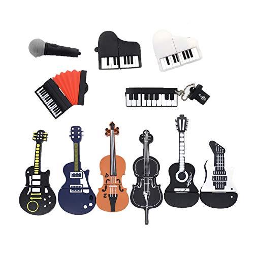 (USB Flash Drive Musical Instruments Pen Drive Memory Stick u Disk,8GB,8)