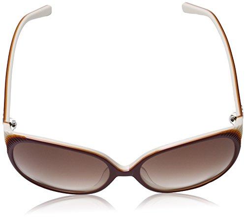 MMissoni - Lunette de soleil MM606S Grande  - Femme Burgundy-orange frame/gradient brown lens