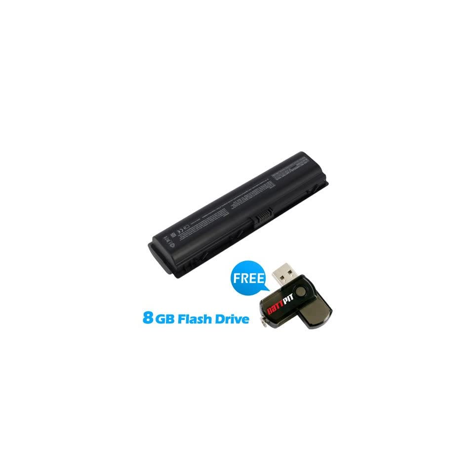 Battpit™ Laptop / Notebook Battery Replacement for Compaq HSTNN DB46 (8800mAh / 95Wh ) with FREE 8GB Battpit™ USB Flash Drive