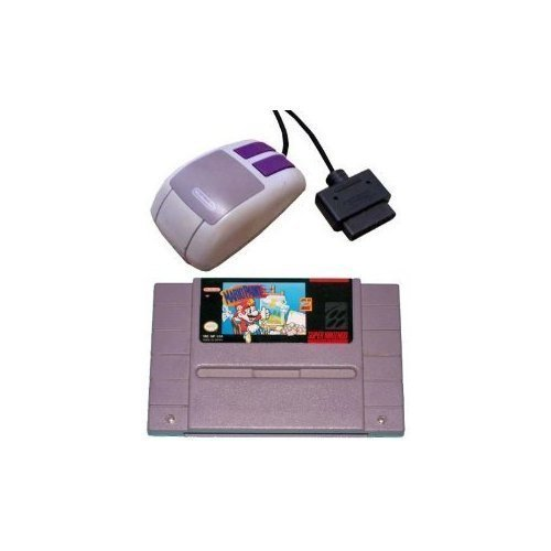 Price comparison product image Mario Paint & Super NES Mouse (Super Nintendo) SNES Game